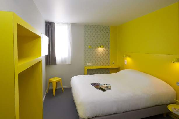Doppelzimmer COTO HOTEL Beaune, Billiges Hotel in Beaune