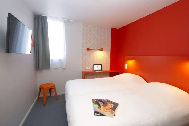 Twin Zimmer COTO HOTEL Beaune, Billiges Hotel in Beaune